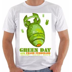Camiseta Original Poster Green Day Toyota Center 2009 a9fdcf9560c