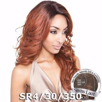 Peruca Front Lace Isis Brown Sugar Human Hair Blend Bs212