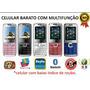 Celulare E71para Revenda Novo Kit 25pç Coloridas Completo
