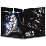 Episodio 4 Blu Ray- A New Hope Steelbook- Estuche Metal 2017