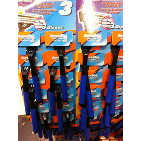 Gana Dinero !!! Revende Buen Paquete 24 Rastrillos Supermax