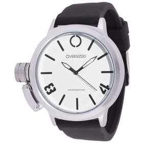 Relógio Esportivo Masculino Oversized Hunter 50mm (white)
