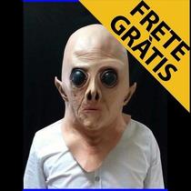 Máscara Cabeça Et Extraterrestre Ovini - Latex Realística
