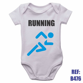 Body Infantil Running Corrida Exercícios Personalizado