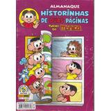 Almanaque Histórias De Duas Páginas Turma Da Mônica- Nº 5
