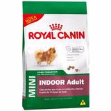 Royal Canin Mini Indoor Adult Raças Pequenas 7,5 Kg+ Brinde