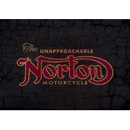 Bandeira Norton - Motorcycle