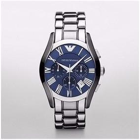 fa804462682 Relógio Emporio Armani Prata Ar1635 Frete Grátis Original