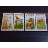 Brasil - Estampillas 1084/7 Fauna Aves Regionales