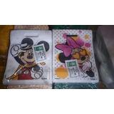 Paquete De 20 Bolsas Friselina 22,5x30 Mickey/minnie