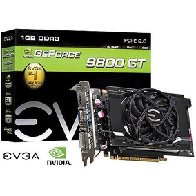 Placa De Video Geforce Nvidia 9800 Gt 1gb Ddr3 256 Bits Dvi