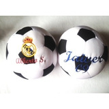 Balón Cojín Fútbol Real Madrid Almohada Antiestres Nuevo Más