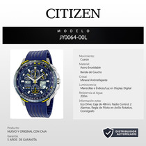 Reloj Citizen Skyhawk Blue Angels Eco Drive Jy0064-00l 60014
