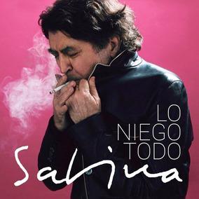 Cd Joaquin Sabina Lo Niego Todo Nuevo 2017 Sellado