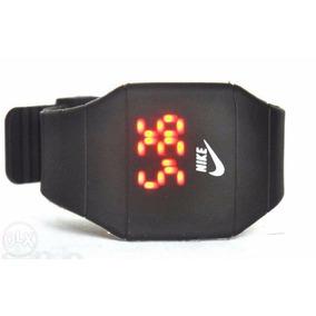Relógio Led Digital Sport Nike Pulseira Silicone Promoção!!!