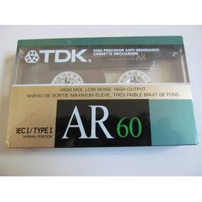Fita K7 Tdk Ar-60 - Importada - Lacrada