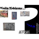 Vidrieras, Letras Adhesivas, Decoración, Esmerilados