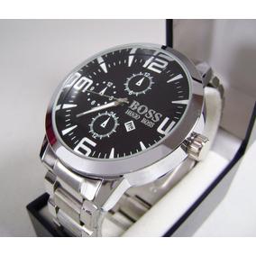 Reloj . H U G O .. B O S S . Con Fechador Acero Nuevo Kppn2