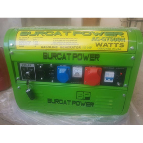 Planta De Luz Burcat Power Generador 15 Hp Totalmente Nueva