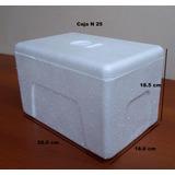 Caja Termica Pequeña De Tecnopor N 25