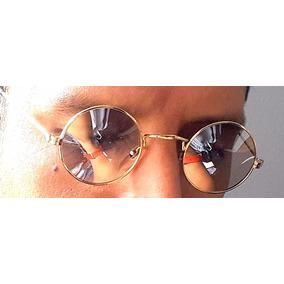Lentes Sol Vintage John Lennon , Cristales Espejados Beatles