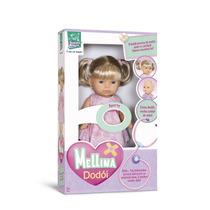 Boneca Mellina Dodói Fala 5 Frases 191 - Super Toys