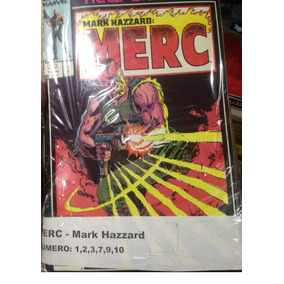 Marvel Comics - Lote De Mark Hazzard: Merc Arnold Maveric
