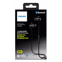 Audifonos Manos Libres Bluetooth Philips Shb5800 Nfc In-ear