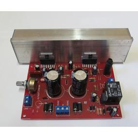 Kit 2 Placas Amplificador 200w Rms Tda7294