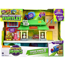Tortugas Ninja Casa Sewer Guarida Half Shell Heroes Remate