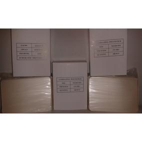 Plastico Para Laminar Tamano Carnet 70x100mm 175 Micras