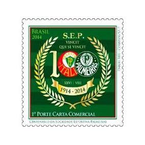 Selo Centenário Do Palmeiras - Futebol - # Palmeiras #