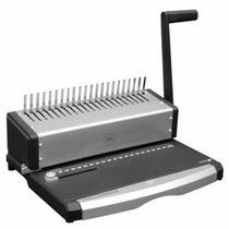 Perforadora Y Encuadernadora Manual Wirebasic