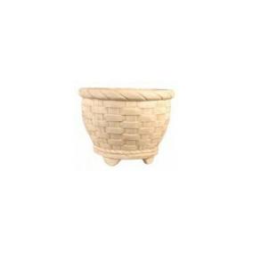Conjunto Com Três Formas Em Fibra Para Vasos Em Cimento.