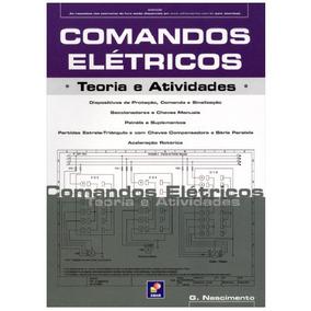 Livro Comandos Elétricos - Teoria E Atividades