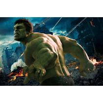 Painel Decorativo Festa Infantil David Banner Hulk (mod5)