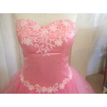 Vestido Animapura De Quince Corto