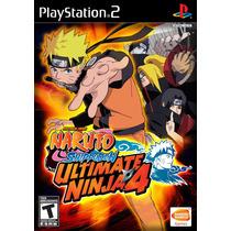 Naruto Shippuden Ultimate Ninja 4 E 5 Play 2 Ps2 Patch