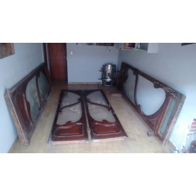 Puertas Antiguas Madera Y Vidrio