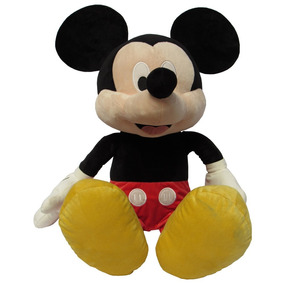 Peluche Disney Mickey Core 80 Cm Desde 3 Años Rojo Y Negro