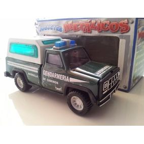 Camioneta Gendarmería De Juguete Metal Y Plastico - Oferta
