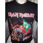 Camisa Do Iron Maiden England Tour 2013 Classic Rock Grato!