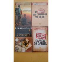 Lote Com 4 Livros Evangélicos Do Silas Malafaia!