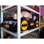 Cama 1 1/2 Modelo Carro Batman Niño Para Bebe ( Nuevo )