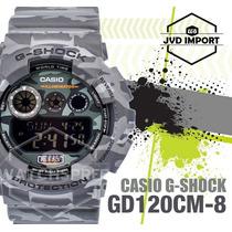 Reloj Casio G-shock Gd-120cm-8dr - Nuevo Y Original En Caja