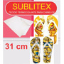 Sublitex - Tecido Termocolante P/ Chinelos - 31cm - 5 Mt