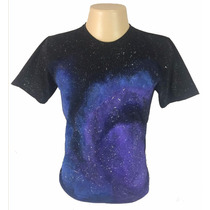 Camiseta Estampada Exclusiva Psy Trance Rave - Camisa Espaço