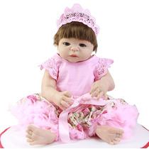 Bebê Reborn Carolina Pronta Entrega Molde Victória Silicone
