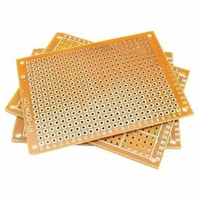 Baquelita Perforada Pcb 5x7cm Arduino Pic Electronica