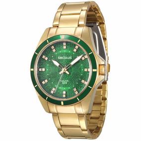 Relógio Seculus Long Life 2 Anos Garantia 28431lpsvda2 V